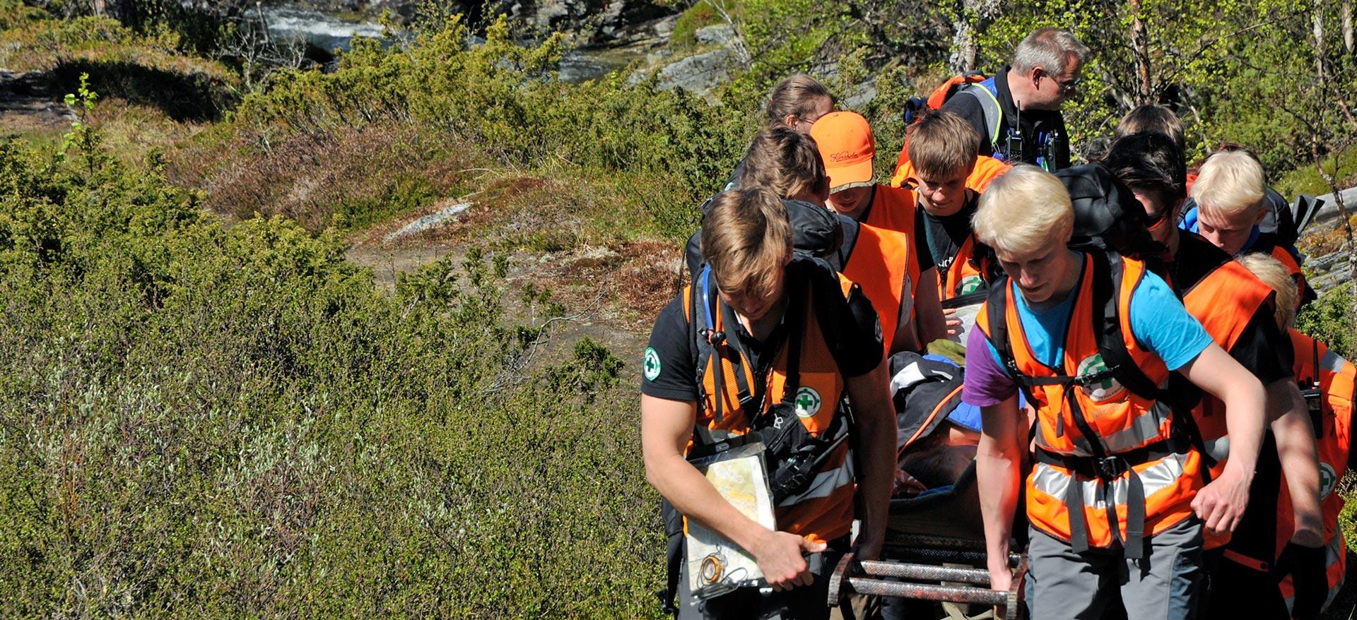 Frivillig Norsk Folkehjelp i aksjon
